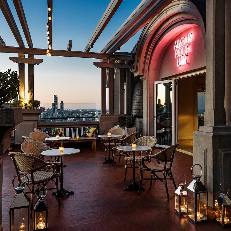 O luxuoso Alvear Roof Bar. Vale a Pena!
