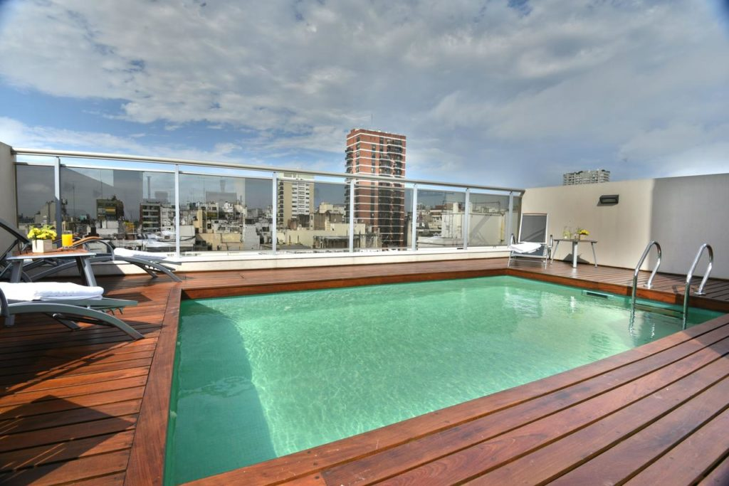 Piscina na ARC Recoleta Boutique Hotel & Spa