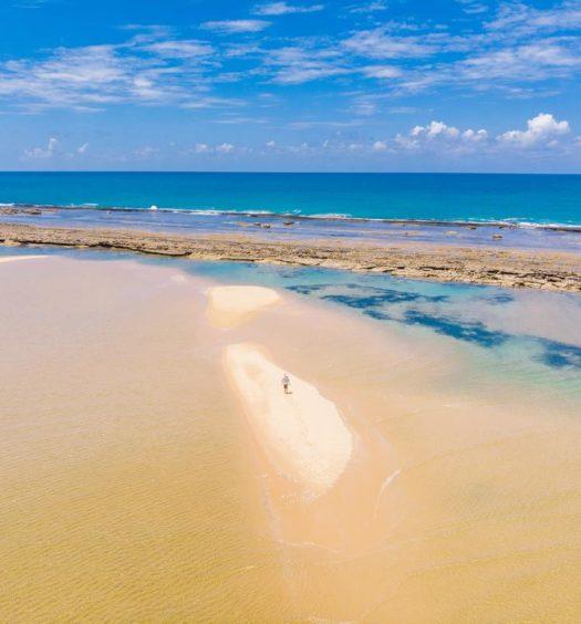 Barra de São Miguel em Alagoas