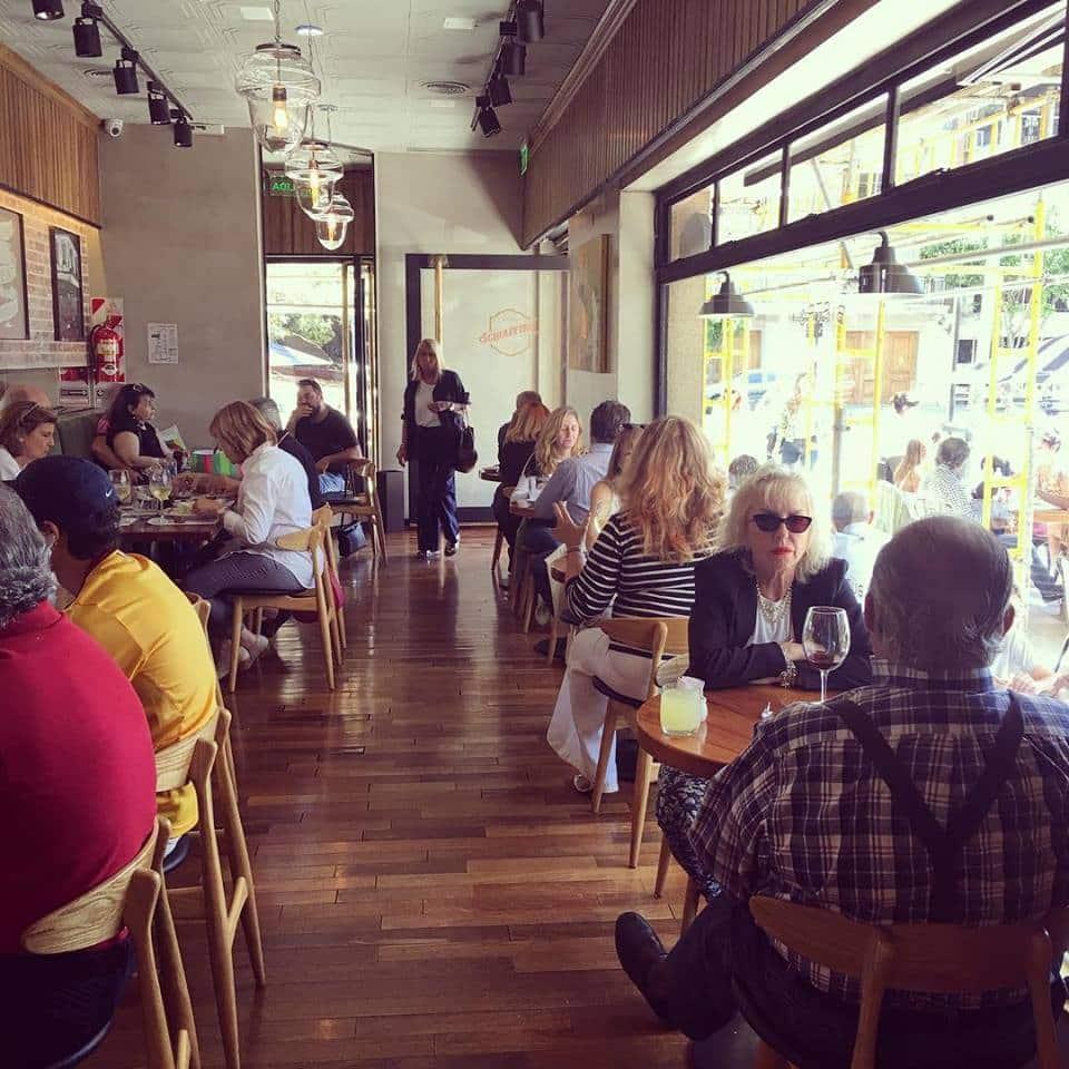 Bistro Shiaffino em Buenos Aires na Recoleta