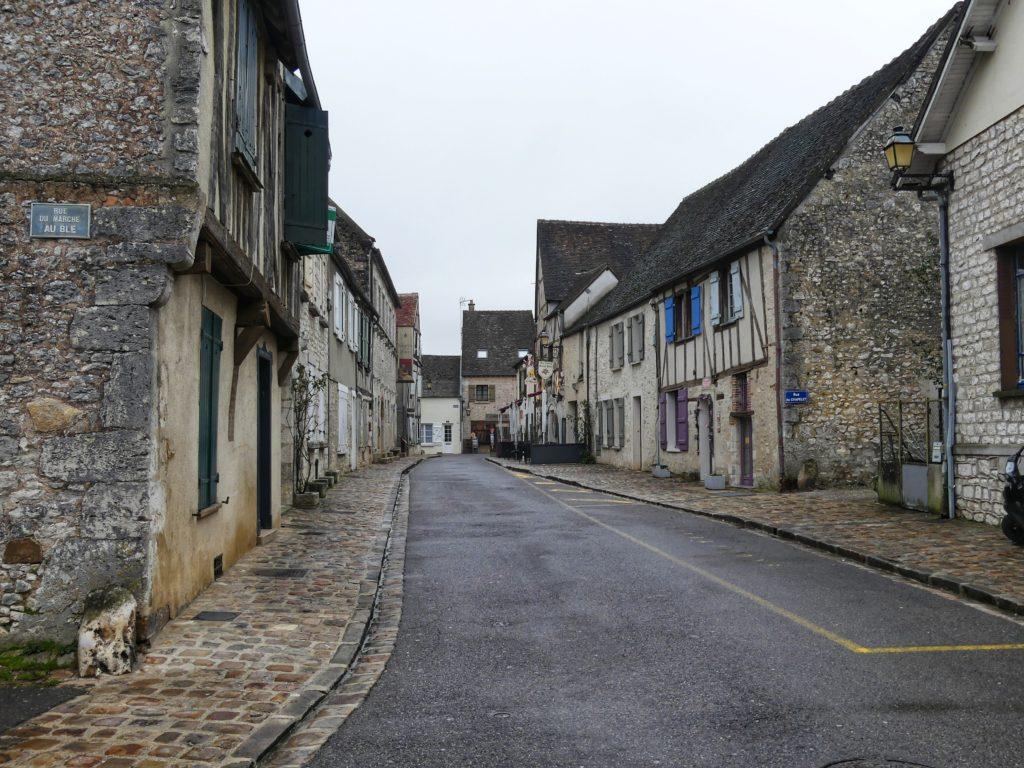 As ruazinhas e arquitetura de Provins na França. Um charme! - Foto: Marcos Martins