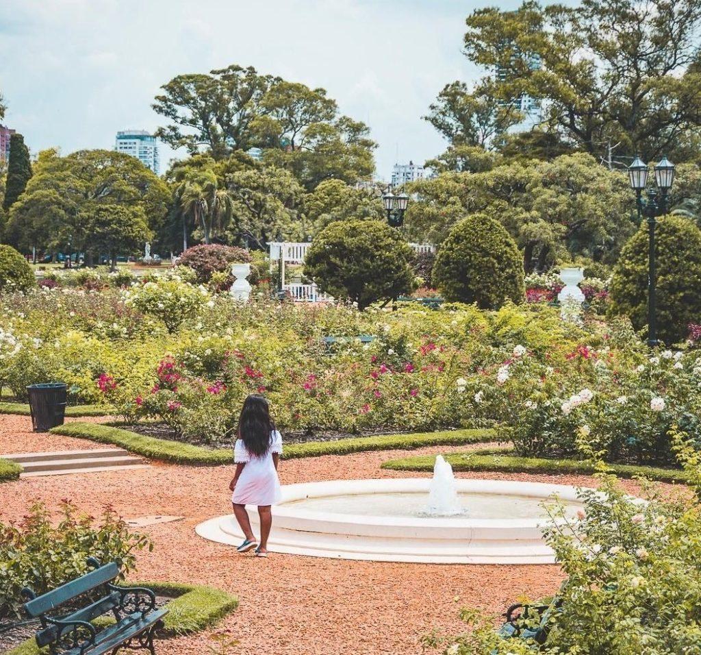 El Rosedal em Parlemo, as áreas verdes dão um show à parte.