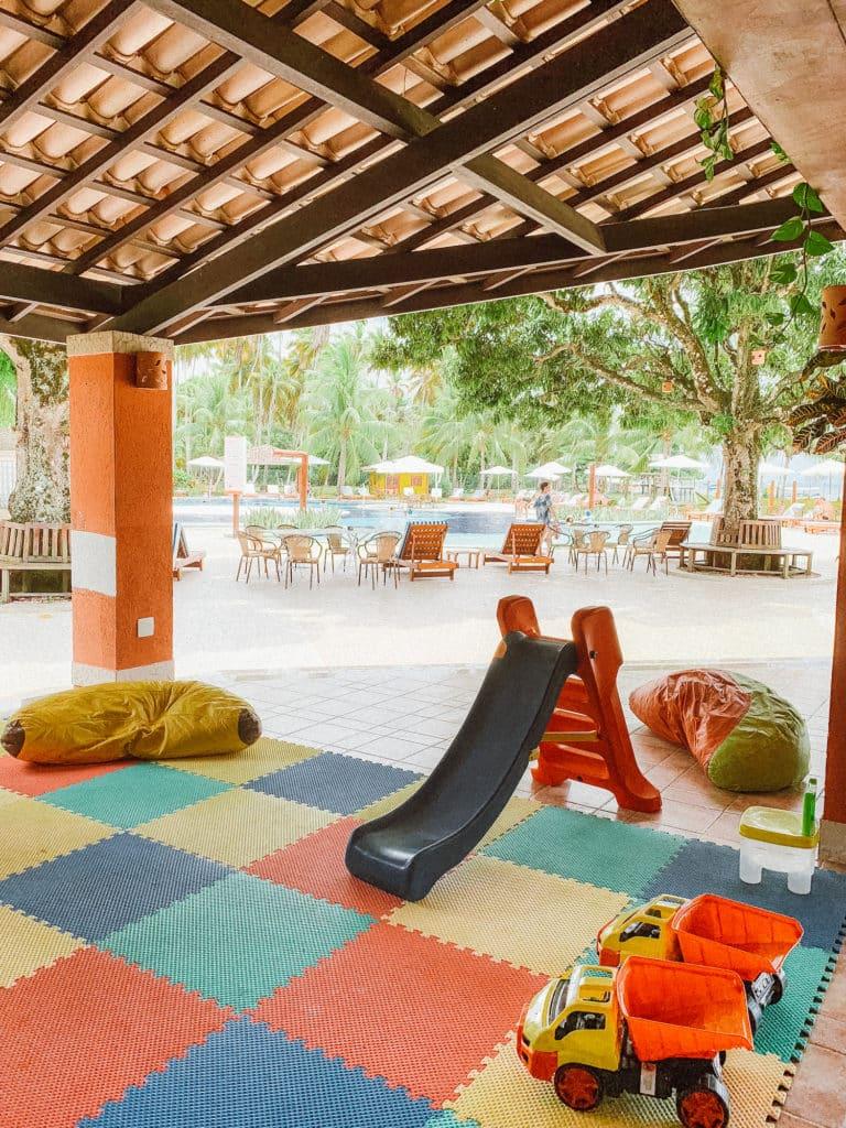 espaço kids no hotel patachocas