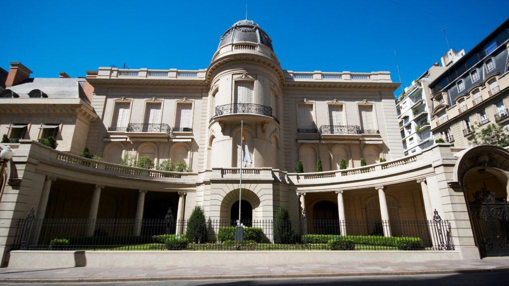 O Palácio Fernández Anchorena