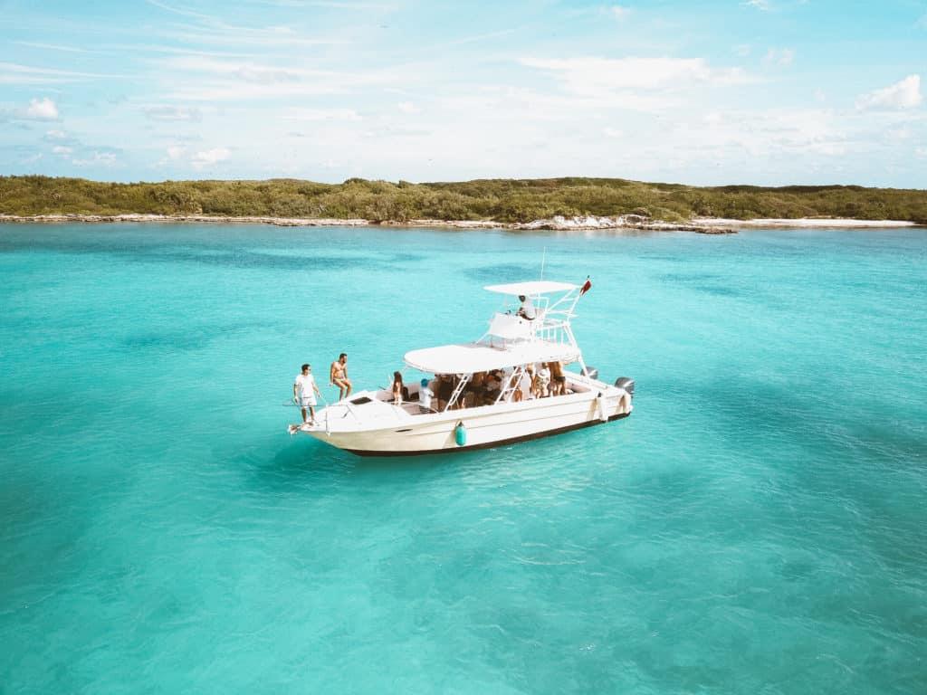 Passei de barco até a Isla Contoy - Lua de Mel em Cancun