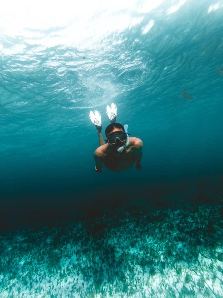 Snorkeling e mergulho - Lua de Mel em Cancun