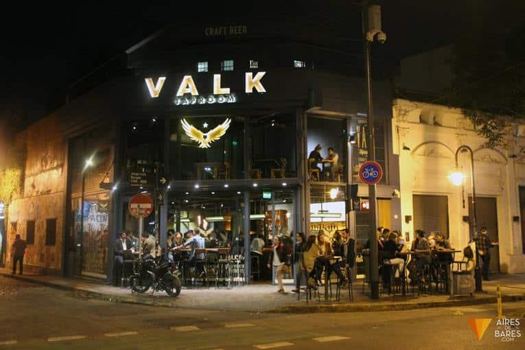 Cervecaría Valk Taproom - Foto: Aires de Bares