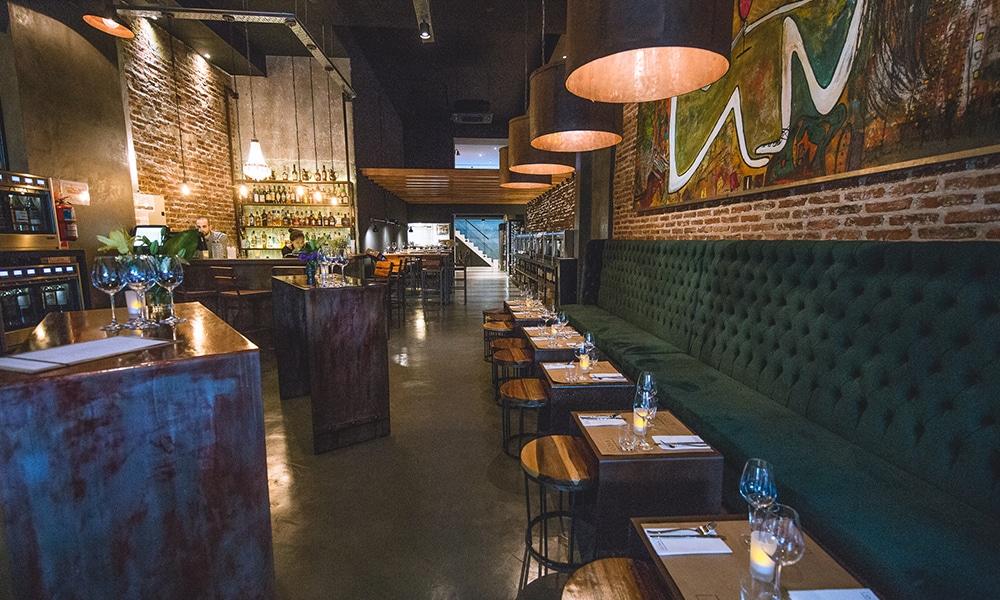 Com uma decoração super elegante o Vico Wine Bar - Foto: site oficial. Restaurante em Buenos Aires