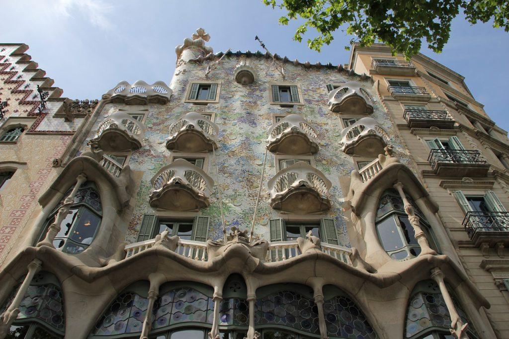 A Casa Batlló uma das obras de Gaudí