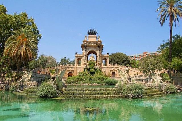 A fonte no the Parc de la Ciutadella - Foto: Mark-M via Flickr