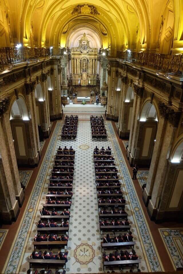 A Catedral de Buenos Aires por dentro - Foto: @CatedralBsAs