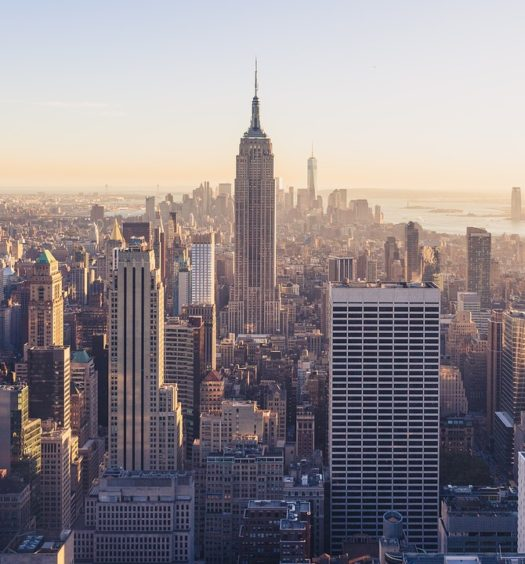 Vista de Nova York com destaque para o Empire State Building - Foto: Pexels via Pixabay
