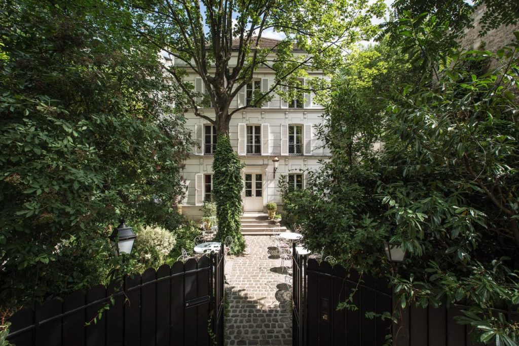 O Luxuoso Hôtel Particulier Montmartre Hôtel Particulier Montmartre em Paris - Foto: Divulgação