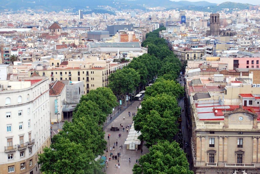 La Ramblas em Barcelona - Foto: Nikos Roussos via Flickr