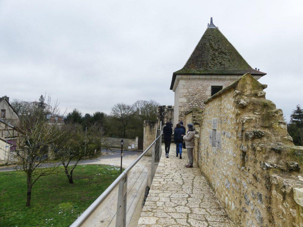 Torres e galerias em provins