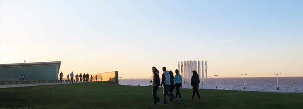 Pontos turísticos em Buenos Aires - Parque de la Memoria