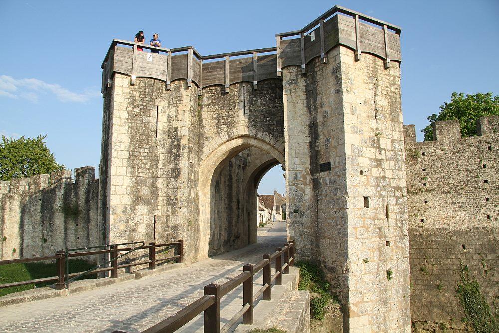 Porta de Jouy em Provins