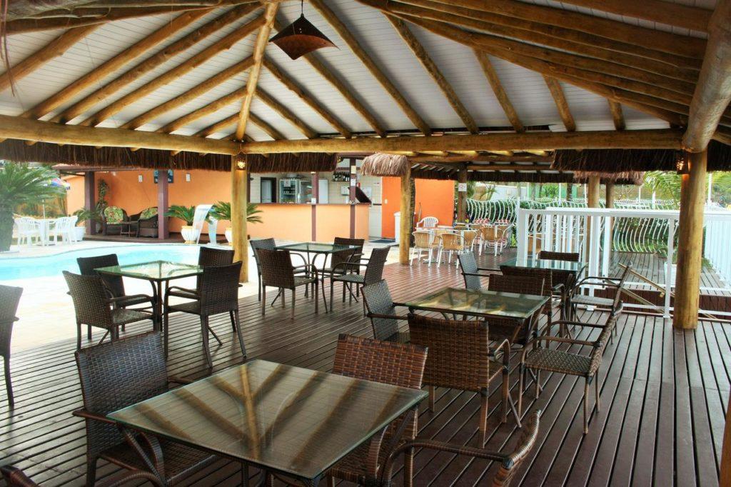 Restaurante na Pousada Beira Mar Maresias