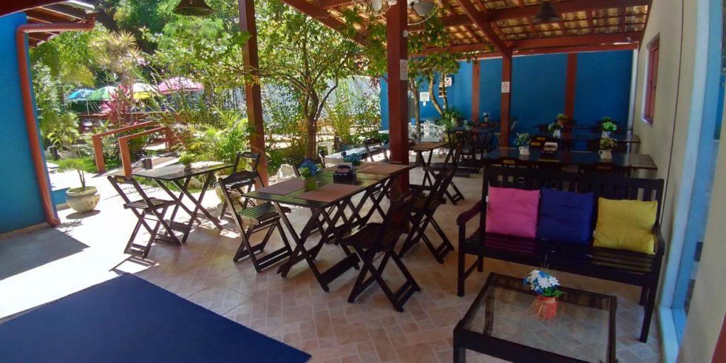 Restaurante na Pousada Villa Blu