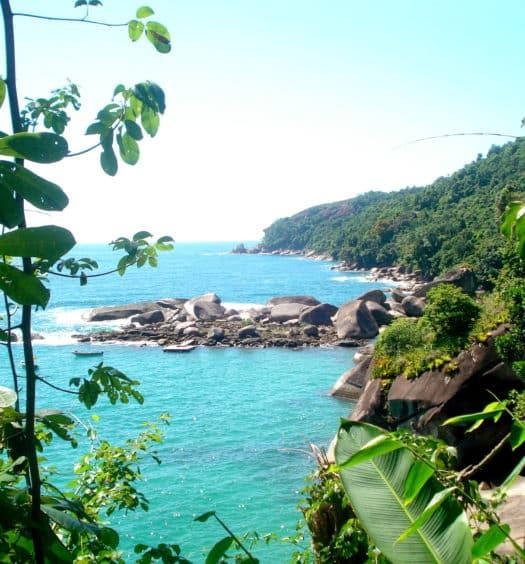 Praia do Cachadaço em Trindade - RJ - Foto: José Lopes Oliveira Júnior - Pousadas em Trindade