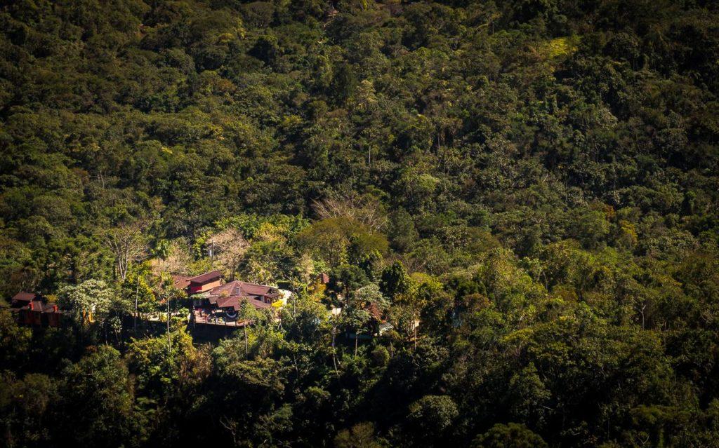 A Pousada Vila Branca - bem no meio da Natureza - Foto: Site Oficial  - Pousadas em São Francisco Xavier