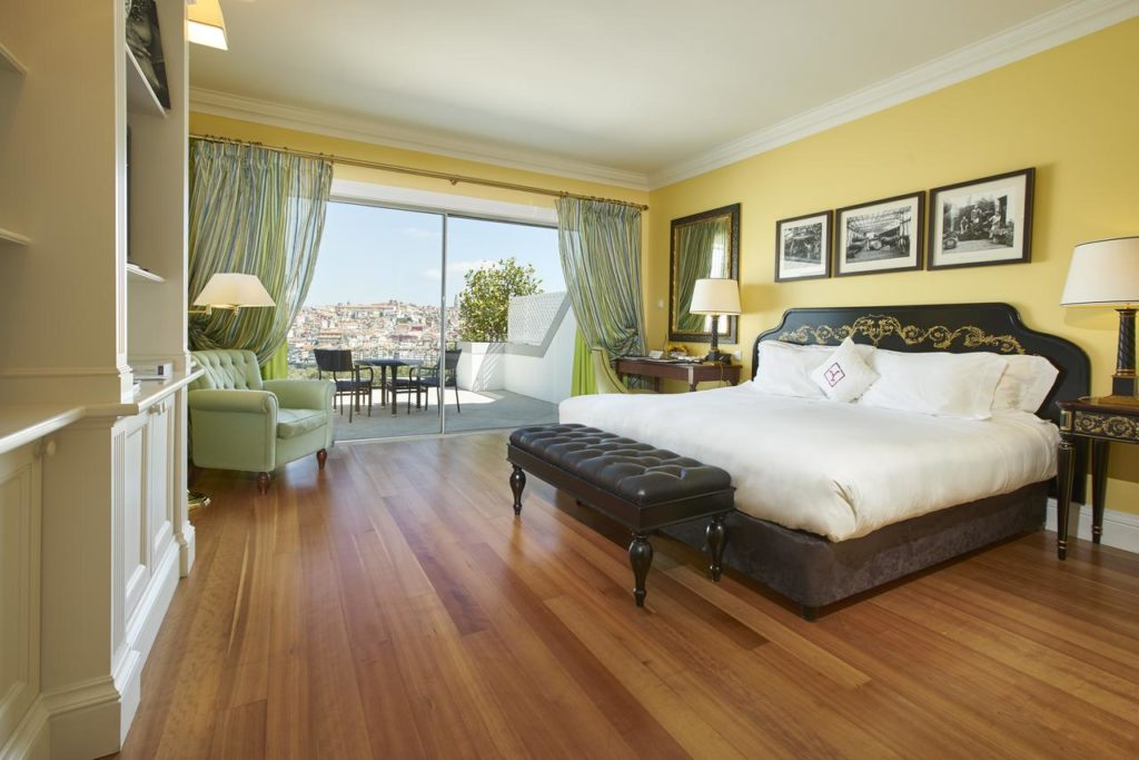 Quarto super luxuoso do The Yeatman