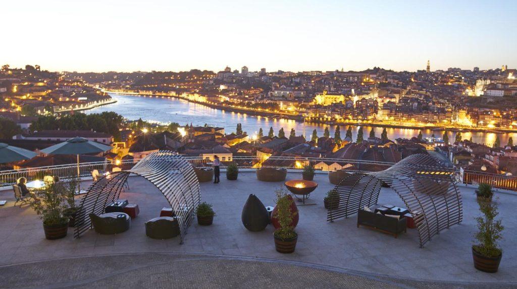 vista da cidade do Porto do Yeatman
