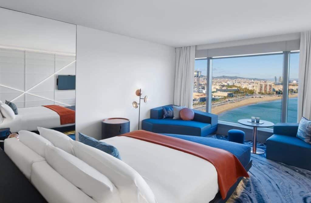 W Hotel - onde ficar em barcelona (o que fazer em barcelona)