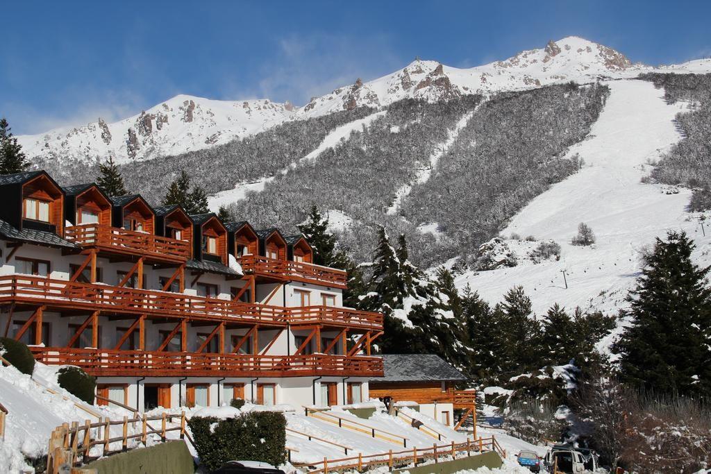 O Club Hotel Catedral durante o inverno em Bariloche no Cerro Catedral. Onde ficar em Bariloche