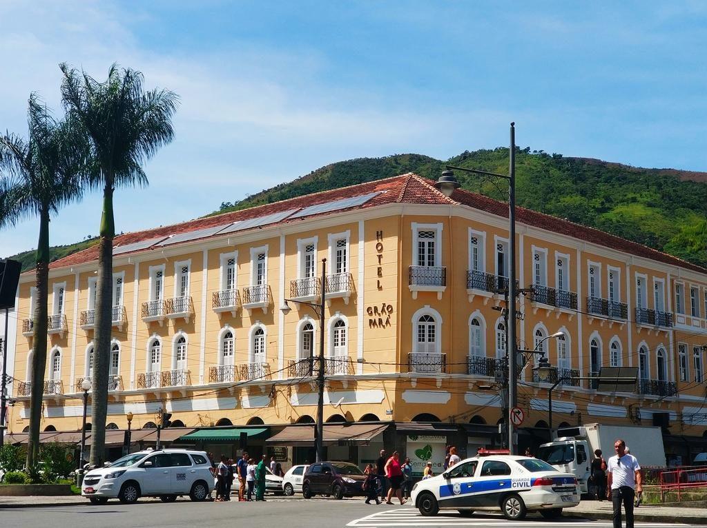 Fachada Hotel Grão Pará