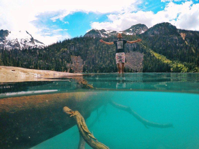 Middle Joffre Lake - Foto: Brian Baldrati - o que fazer em Whistler