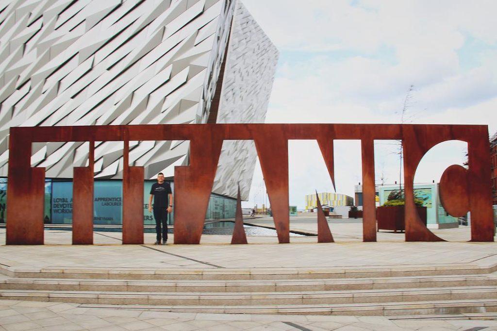 Museu do Titanic em Belfast - um dos principais pontos turísticos na cidade