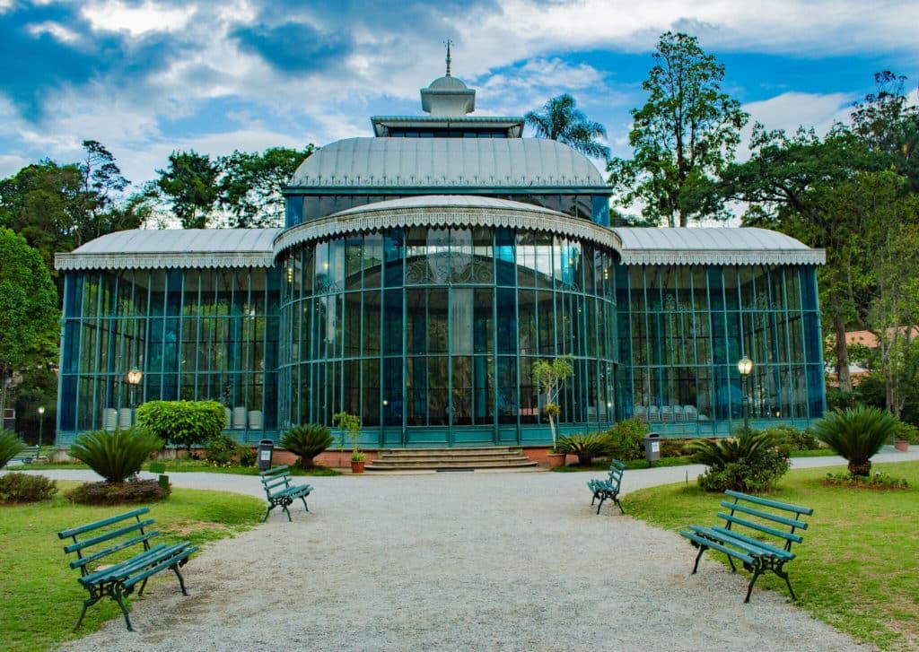 Um dos pontos turísticos de Petrópolis - O Palácio de Cristal - Foto: André Rodrigues via Flickr