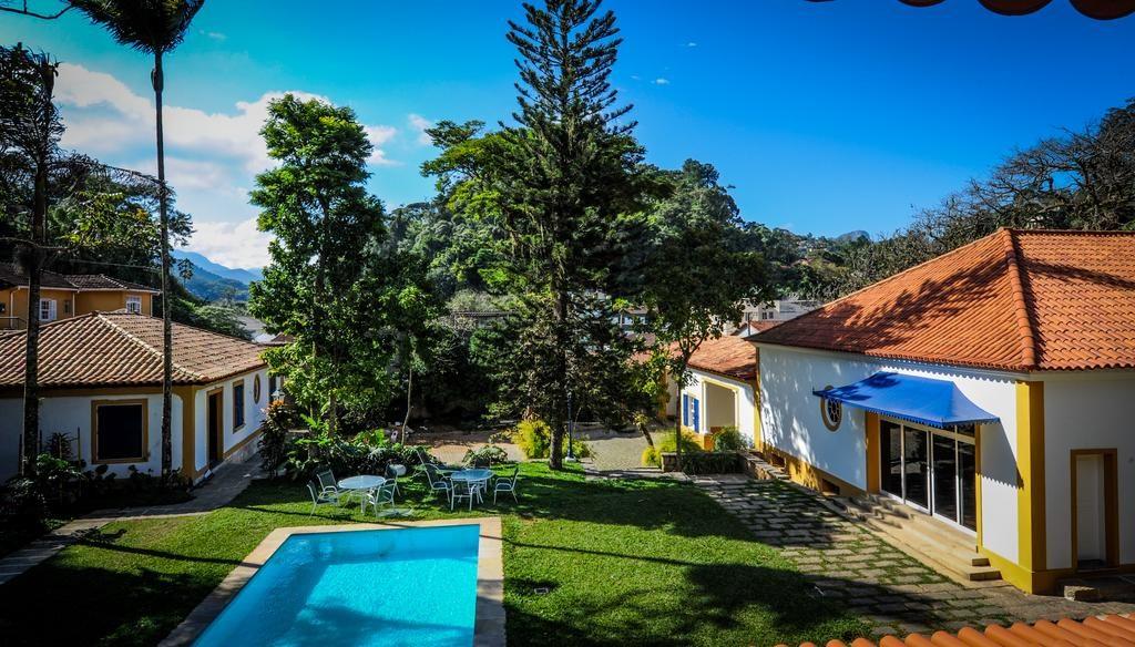 Onde ficar em Petropolis - Pousada Vila Brasil piscina