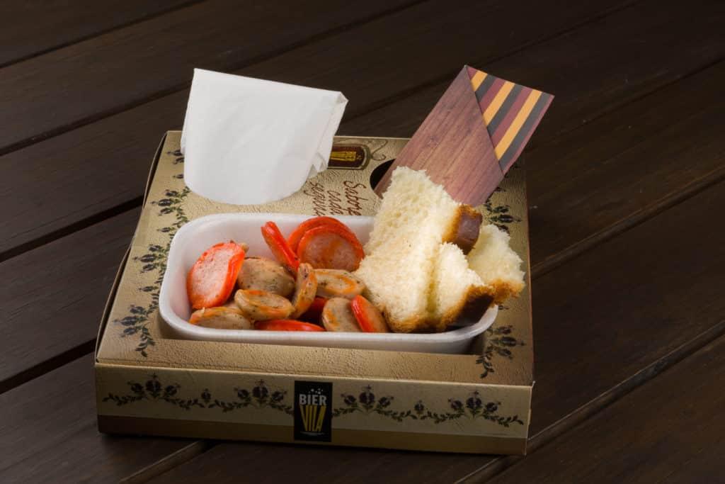 Prato típico alemão vendido no Parque Vila Germânica. Foto do site oficial do local.
