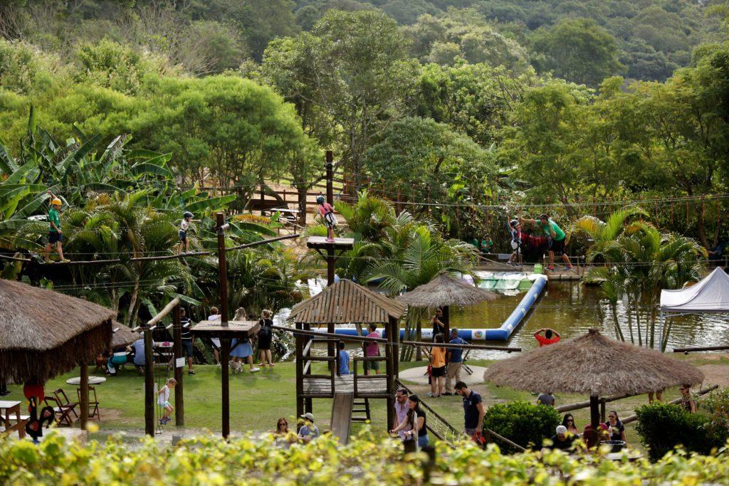 Atrações para as crianças na Quinta do Olivardo