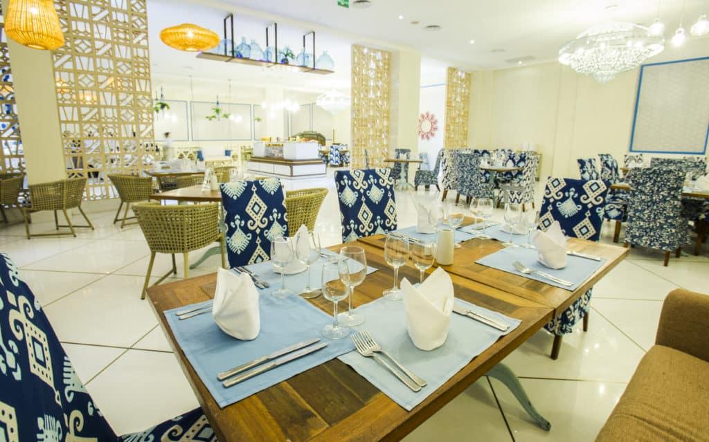 O Resturante Portofino no Grand Palladium Imbassaí - com opções da culinária mediterrânea
