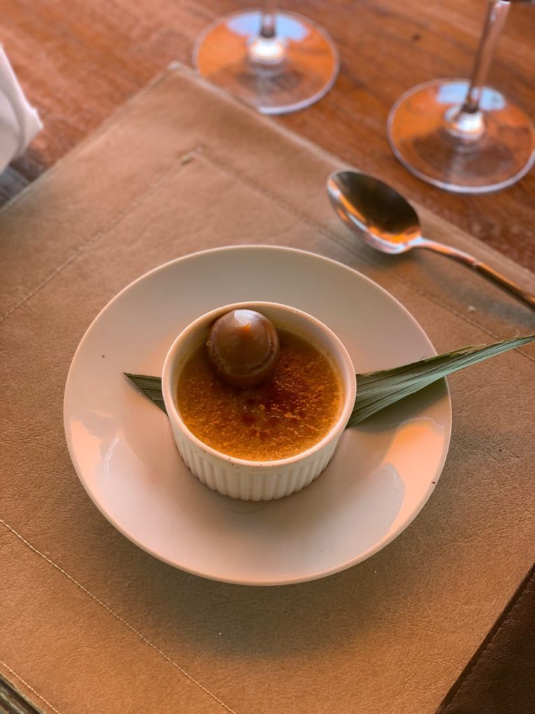 Sobremesa da bodega La Azul. Foto: Bruno Tavares