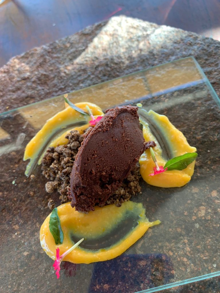 Sobremesa na bodega Ruca Malen. Foto: Bruno Tavares.