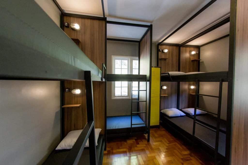 Quarto compartilhado no Um Hostel