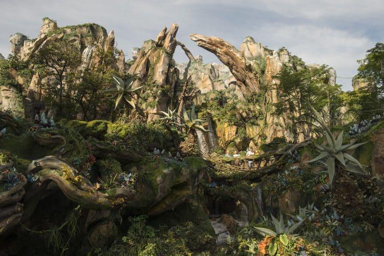 O Pandora - Mundo Avatar - uma das principais atrações do Animal Kingdom - Foto: Diney Oficial.