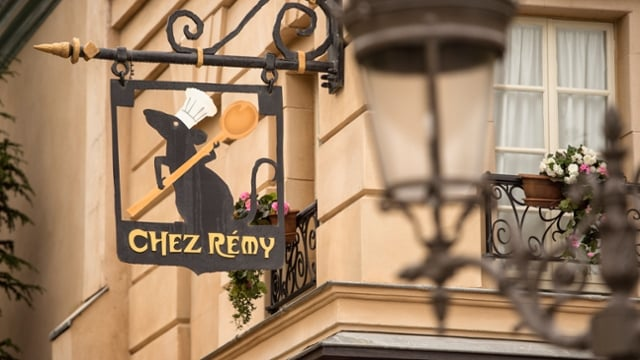 O Bistrot Chez Rémy do famoso ratinho do filme