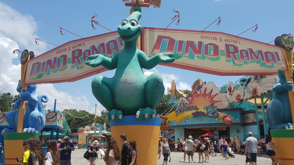 Entrada do Parque DinoLand USA no Animal Kingdom