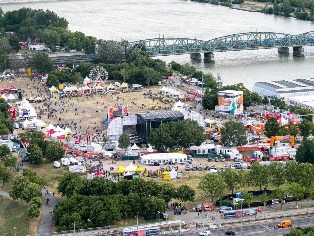 A Donauinselfest em 2018