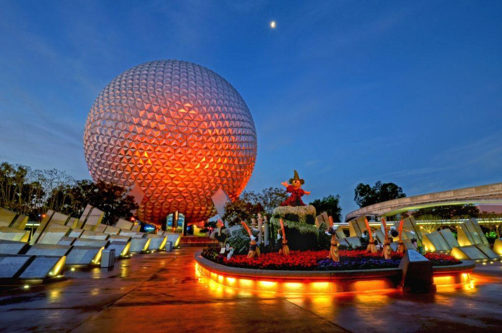 O Epcot Center da Disney em Orlando