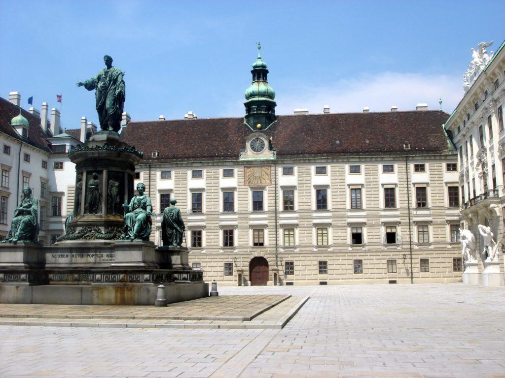 Hofburg, a residência dos imperadores em Viena  - Foto: Flávio Antunes
