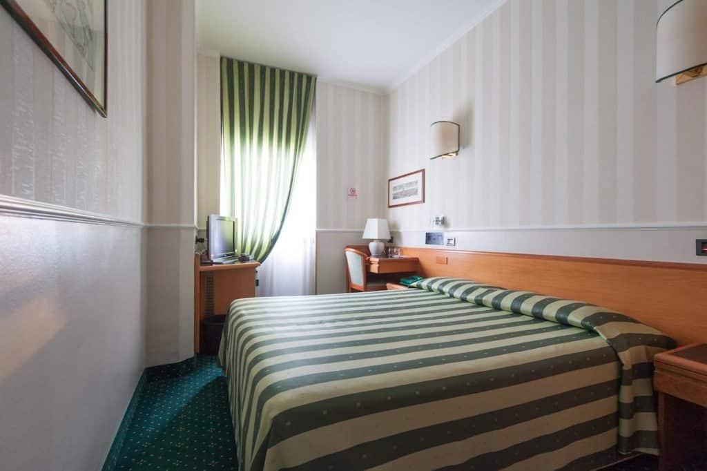 Quarto de casal no Hotel Flora em Milão