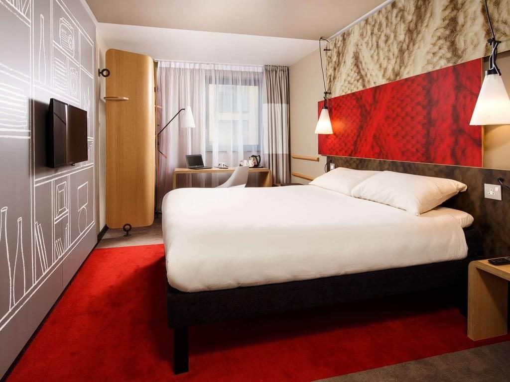Quarto do hotel Ibis