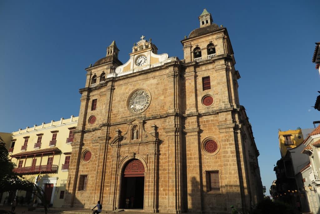 Igreja e Monastério de San Pedro Claver em Cartagena