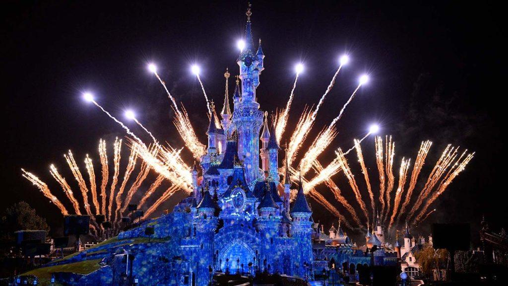 O show de luz e fotos na Disneyland Paris